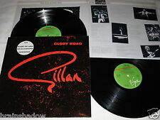 GILLAN glory road for gillan fans only 2 LP LIMITED Edition Virgin Rec. UK 1980