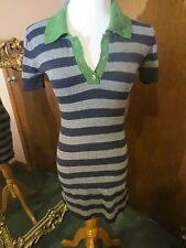 Laurie b knitwear Knit Strip Dress Sz M