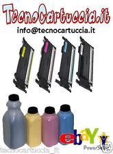 Kit di Ricarica Toner per Samsung CLP 320 N CLP-320N CLT 4072 S C Y M K 4 Colori