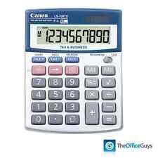 Canon LS-100TS Dual Powered Tax & Business Calculator, 10 Digit LCD (LS100TS)