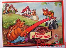 LIBRO PUZZLE Diario di Mio Meo ed. AMZ fine anni '60