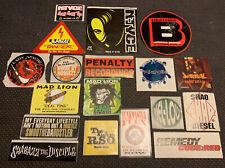 VTG Stickers LOT OF 18 90's~ HIP-HOP ~PROMO~ LIKS, MAD LION & More!