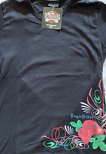 Eaglerider Motorcycle Rentals Vintage Women's T, New With Tags