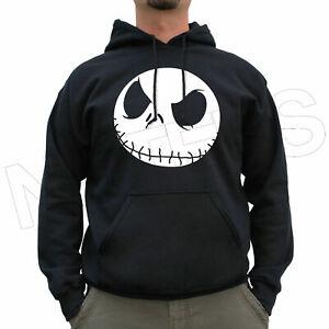Nightmare Before Christmas Jack Inspired Cool Jumper Hoodie S-XXL Sizes