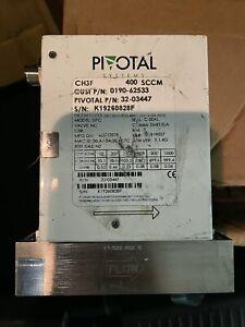 PIVOTAL  GAS FLOW CONTROLLER 400 sccm, AMAT PN: 0190-62533
