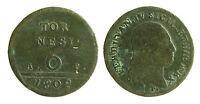 pci2260) Napoli Regno  Ferdinando IV di Borbone - 6 Tornesi 1802
