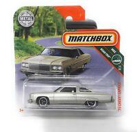 Matchbox MBX Superfast 2019 No 6 1975 Chevrolet Chevy Caprice short blister card