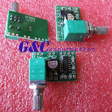 2PCS PAM8403 5V DC Audio Amplifier Board 2 Channel 2*3W Volume Control USB Power