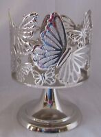 Bath and & Body Works Candle Sleeve for 3-Wick 14.5 oz Candle BUTTERFLY PEDISTAL