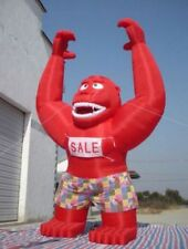 20Ft Inflatable RED Gorilla  Advertising Promotion With Blower NEW  FREE SHIP