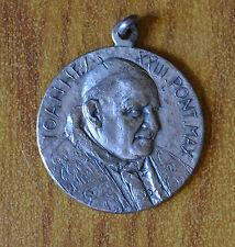 MEDAGLIA VATICANO PAPA GIOVANNI XXIII 1958 1963 ANNO II IN ARGENTO SUBALPINA
