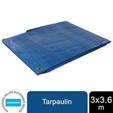More details for silverline tarpaulin 3 x 3.6m 427565