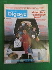 TRAVELLERS DIGEST NUMBER 21 - MEGATRAVELLER RPG - GDW 1990