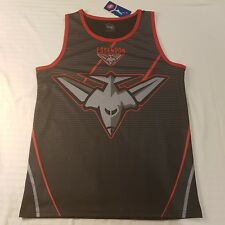 NWT Official AFL Essendon Bombers Men's Training Singlet Size S Polyester -SE11