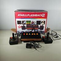 Atari Flashback 2 Classic Game Console 2 Atari 2600 Controllers With 40 Games