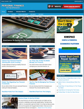 Personal Finance Website Business For Sale Work From Home Business Opportunity
