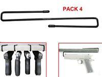 New! Pistol Gun Hanger PACK of 4 Original Handgun Hangers
