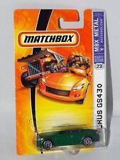 Matchbox 2007 MBX Metal Series #23 Lexus GS430 Green w/ MBX 55th Annv Tampo