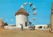 BT1266 mykonos welcome moulin a vent windmill greece
