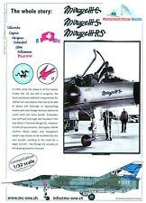 Matterhorn circle Mirage IIIC , IIIS, IIIRS,   Mirage  Decals