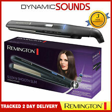 Remington Sleek & Smooth Ceramic Hair Straightener Long Slim Floating Plates