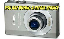CANON SD770 IS or SD790 IS REPAIR SERVICE for your BROKEN DIGITAL CAMERA