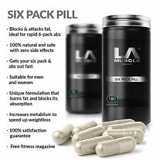 LA Muscle Six Pack Pill | Natural Fat Burner | Powerful Weight Loss Pill by LA M