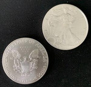 2021 BU American Silver Eagle 1 oz .999 Silver Bullion Coin