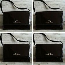 Vintage 1960's Brown Patent Kelly Bag by Maclaren.