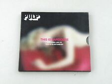 PULP - THIS IS HARDCORE INCLUDES LIVE CD - 2 CD ISLAND 1998 - VG-/EX/VG