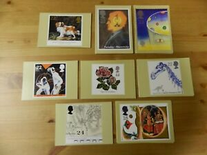 1991 YEAR OF 8 SETS - 36 PHQ CARDS - IN VERY GOOD CONDITION - PLEASE SEE PHOTOS