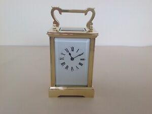 Superb Vintage French Carriage Clock Restored September 2021