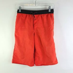 Old Navy Red Swim Trunks Board Shorts Size XL 14-16