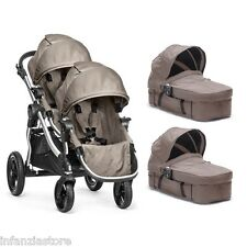 baby jogger city select GEMELLARE  quartz beige