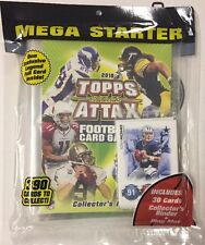2010 TOPPS ATTAX NFL Foootball Mega Starter Set 30 Cards Gronk Bryant Tebow RC ?
