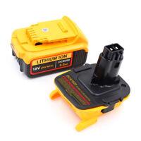 USB Convertisseur pour DEWALT 18V-20V DCA1820 DCB090 Slide Batterie Adaptateur
