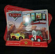 Disney CARS MINI ADVENTURES Radiator Springs Fire Department McQueen & Mater