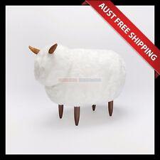 Baa White Sheep Ottoman_Aussie Station, Foot Stool, Foot Rest, Chair Seat Sofa