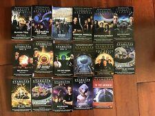 Brand New Stargate Sg-1 and Atlantis Books (Lot of 16 books)