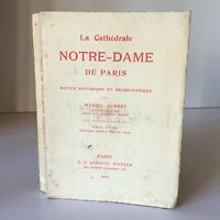 Marcel Aubert La Catedral De París Instrucciones Historia Longuet 1909
