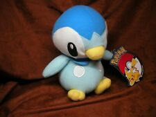 """Toy Factory 6"""" Piplup Plush Pokemon - New with Official Tags"""