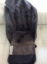 Bugaboo Cameleon Stroller toddler Seat parts Charcoal Gray grey  harness frog