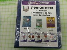 Art Sew Perfect Video Collection 18 DVDs