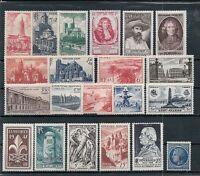 Timbres France neufs** - Année 1947 complète