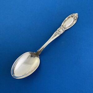 "Antique Towle King Richard 6"" Tea Spoon Sterling Silver No Mono"
