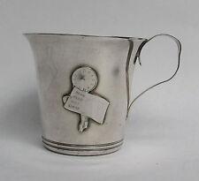 VINTAGE SWEDEN SILVER PLATE CHILD'S CUP