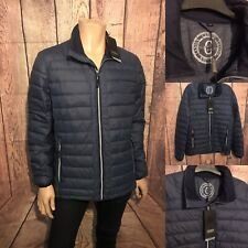 """Canson of Denmark Quilted Jacket, Ultralight , Blue, Large, 42"""", BNWT"""