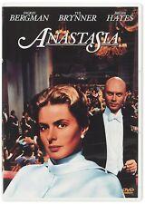 ANASTASIA CON INGRID BERGMAN, YUL BRYNNER, HELEN HAYES (DVD) NUOVO, ITALIANO
