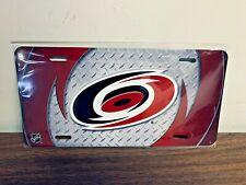 Carolina Hurricanes NHL Hockey Metal Glossy Commemorative License Plate