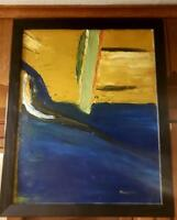 """Original-One of Kind-Oil/Canvas Painting-"""" Untitled """"- Signed-COA-Listed Art"""
